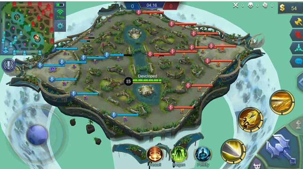 Mobile Legends Map